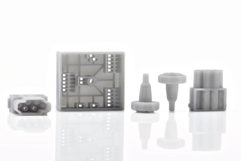 Bauteile im Additive Manufacturing Verfahren eignen sich für erste Tests und Muster..